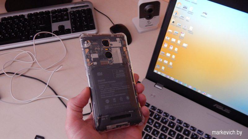 Разобранный Xiaomi Note 3
