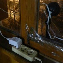 Стресс-тест Wi-Fi камеры Oco2: работа при -16°C