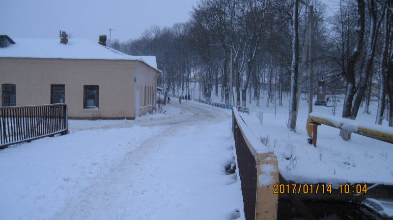 Зима минус 100