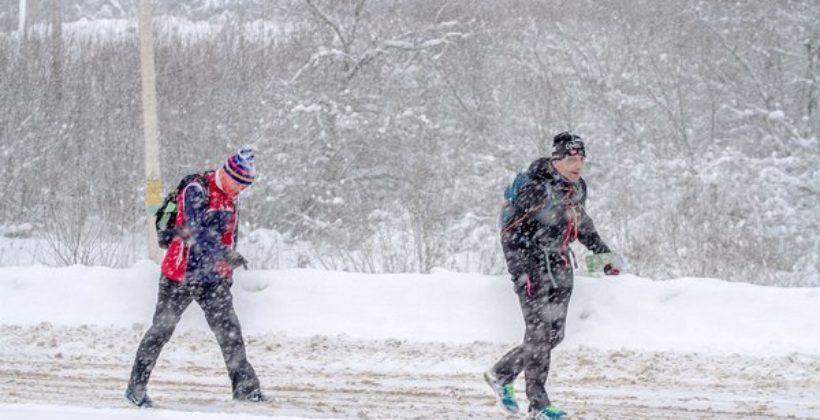 Любительская гонка «Зима минус 100». Первый зимний забег на 50 км