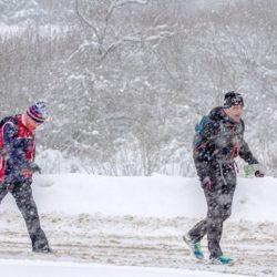 Любительская гонка «Зима минус 100» (первый зимний забег на 50 км)