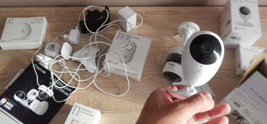Обзор Ezviz C2C — WiFi камера видеонаблюдения для дома