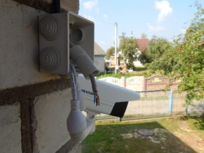 Разъём камер Hikvision (открыт)