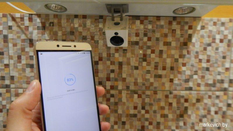 Процесс подключения Xiaomi XiaoFang