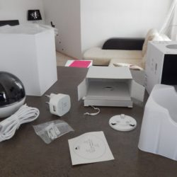 Поворотная IP Wi-Fi камера для дома Ezviz C6T