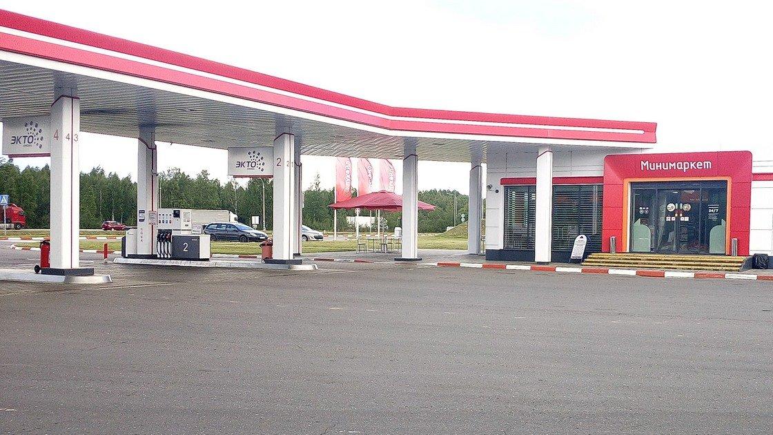 Пример автозаправочной станции