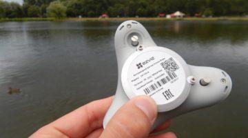 Беспроводной датчик утечки воды Ezviz T10