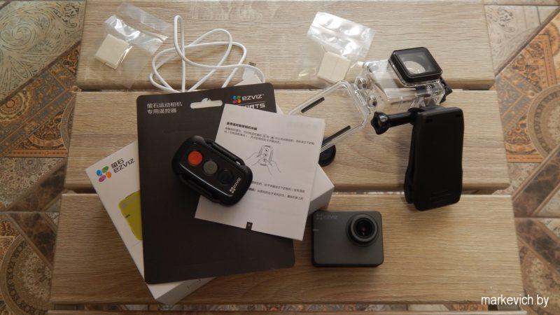 Экшн камера Ezviz S2