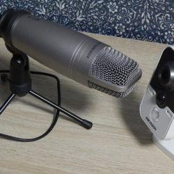 Пример качества записи голоса камерой Hikvision DS-2CD-2412F-I