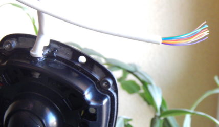 Схема обжима кабеля (разъёма) IP камер Hikvision