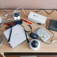 Видеонаблюдение своими руками из 4 камер и видеорегистратора