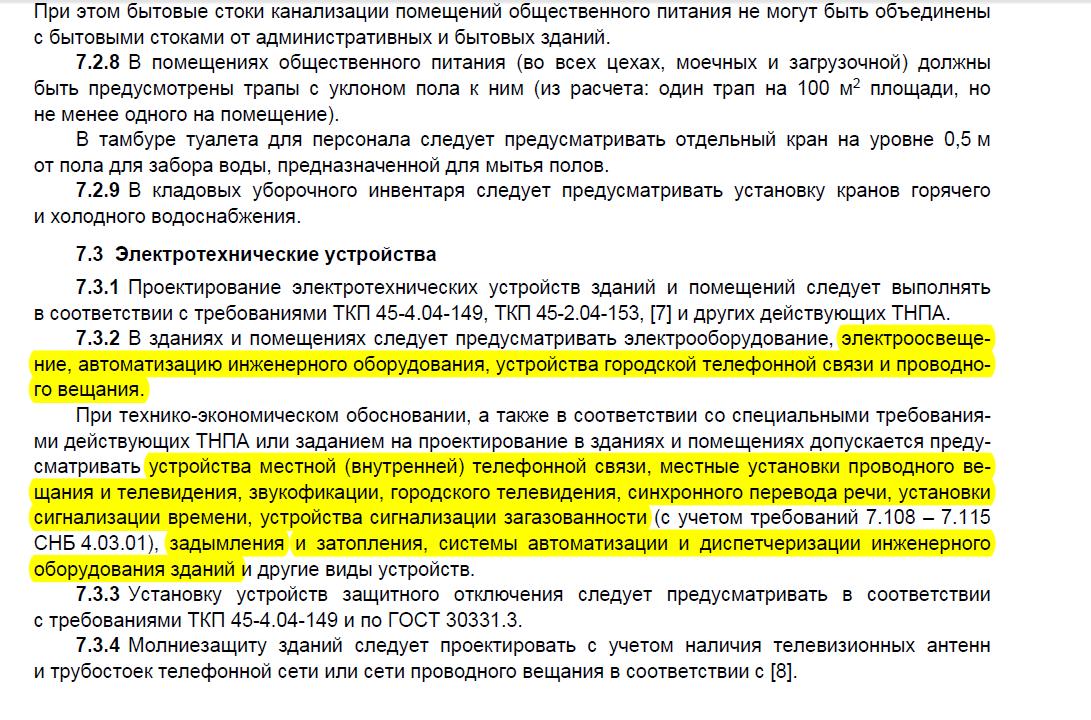 Слаботочные системы в  административных зданиях (Беларусь)