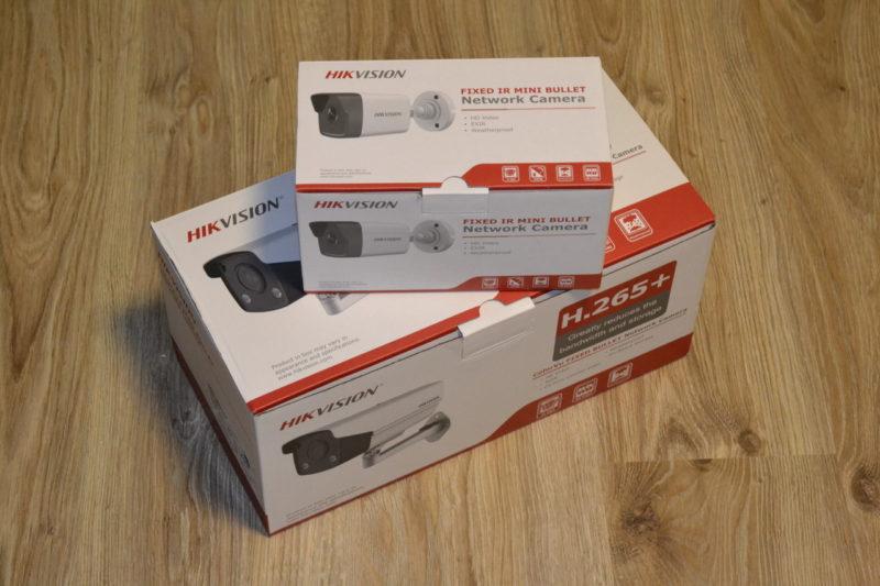 Коробки от IP камер DS-2CD2T27G3E-L и DS-2CD1031-i