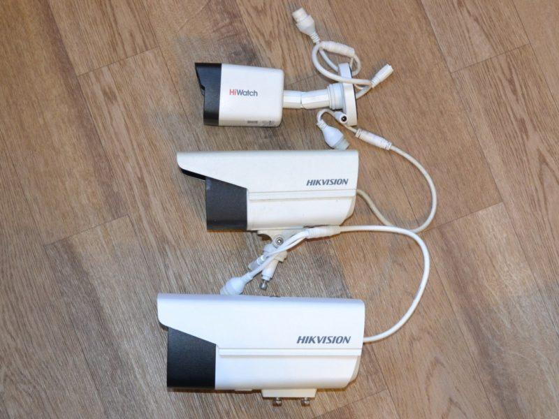 Размеры камер DS-2CD2T32-I3,  DS-2CD2T27G3E-L и DS-I200(C)