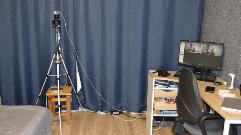 """Домашний """"Стенд"""" для теста IP камер"""