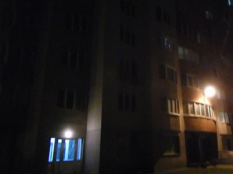 Освещение на улице - один фонарь