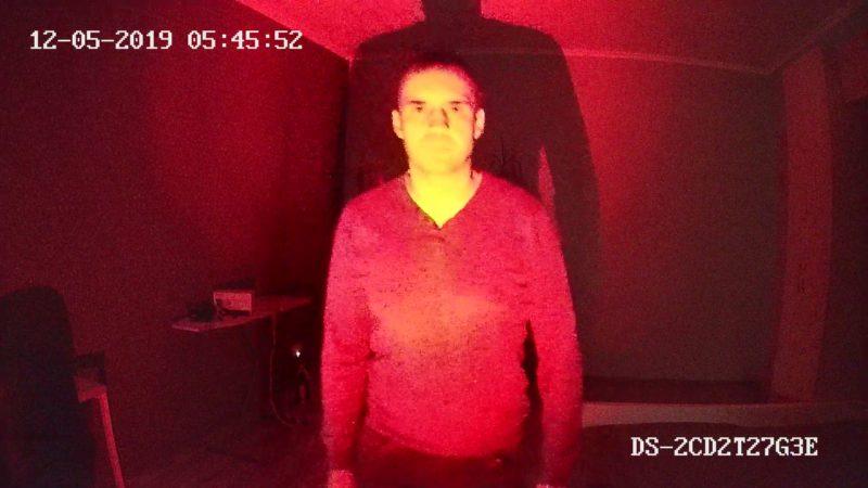 Тест DS-2CD2T27G3E-L. На фонаре 1 люмен