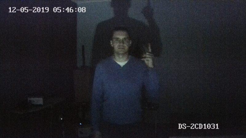 Тест DS-2CD1031-i. На фонаре 4 люмен
