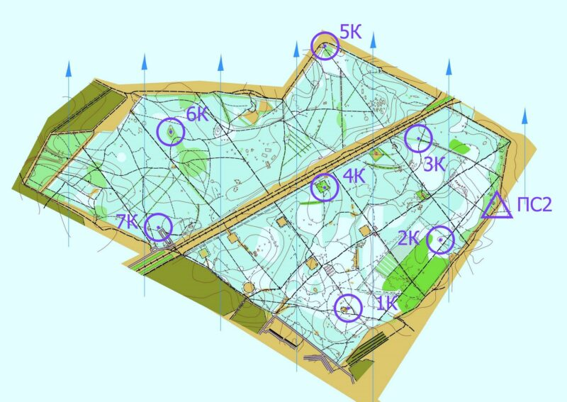 Карта трекинг-квеста