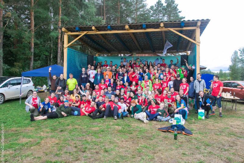 """Организаторы и волонтёры марафона """"Налибоки"""" 2020"""