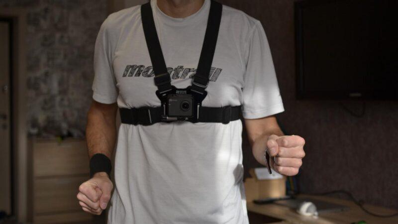 Крепление экшн-камеры на грудь