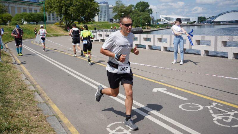 Минский Триатлон - бег 10,5 км