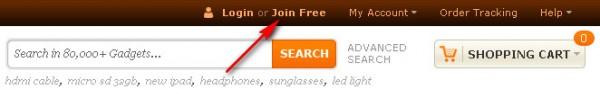 Заказ видеорегистратора с Dealextreme.come
