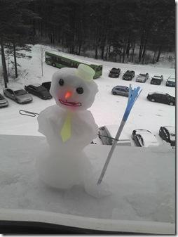 Креативный снеговичок 2012