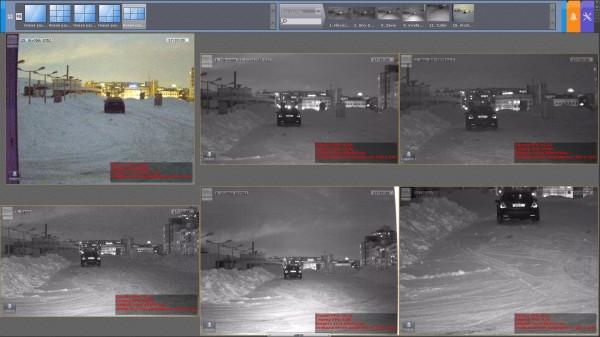 Тест IP камер на распознавание ночью