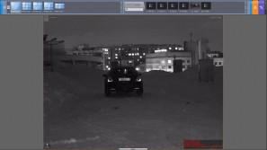 Тест IP камер на распознавание ночью Yudor YUC-H766R-30