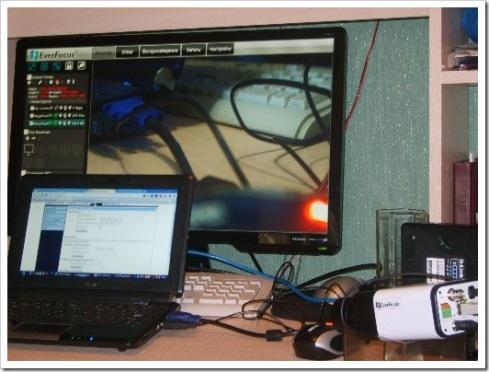 принципиальная электрическая схему видеонаблюдения