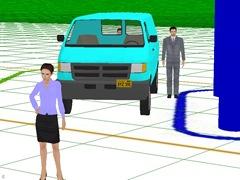 Зона обзора видеокары №1 в IP Video System Design Tool