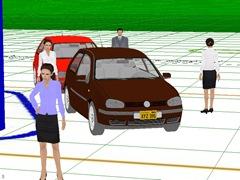 Зона обзора видеокары №2 в IP Video System Design Tool
