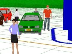 Зона обзора видеокары №3 IP Video System Design Tool