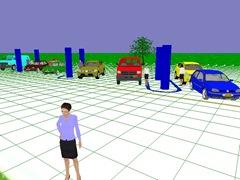 Зона обзора видеокары в IP Video System Design Tool