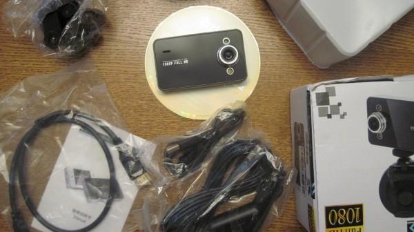 Видеорегистратор К6000 с dx.com (127708)