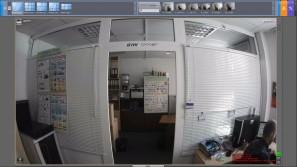 Тест IP камер на широкий угол Zavio B7210
