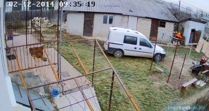 Видео с IP камеры Hikvision DS-2CD2032-I