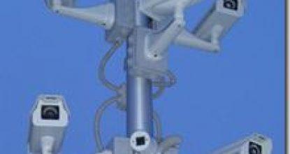Пример применения купольной уличной видеокамеры