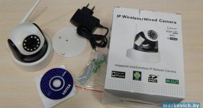 Обзор поворотной P2P камеры — Zenith E1