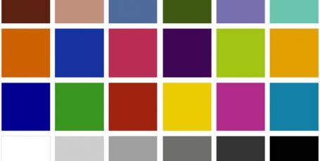 Тест цветопередачи IP видеокамер