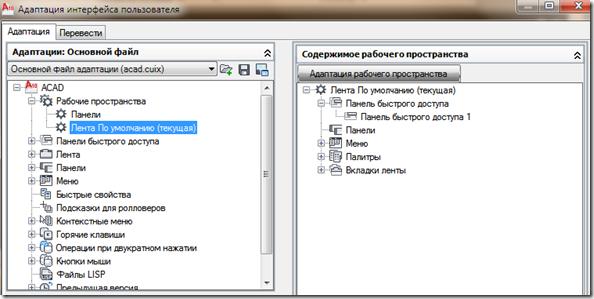 Адаптация интерфейса пользователя