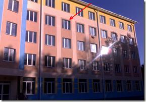 Место установки видеокамеры