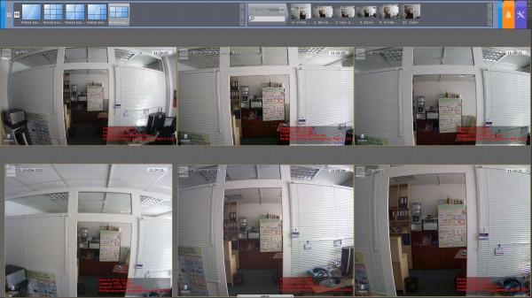 Тест IP камер на широкий угол